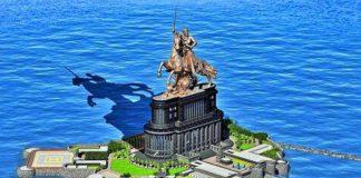 shiva ji proposed statue