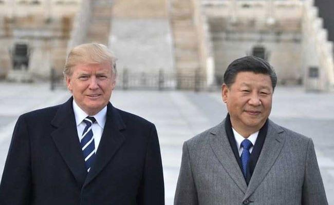 अमेरिकी राष्ट्रपति डोनाल्ड ट्रम्प और चीनी राष्ट्रपति शी जिनपिंग के मध्य व्यापार युद्ध