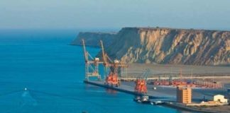 ग्वादर बंदरगाह में सीपीईसी परियोजना