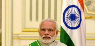 भारत के प्रधानमन्त्री नरेन्द्र मोदी