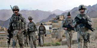 अफगानिस्तान में तैनात सैनिक