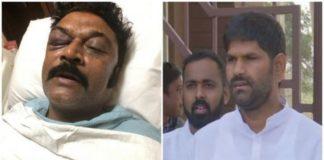 कर्नाटक: कांग्रेस विधायक जे एन गणेश के खिलाफ पुलिस ने किया हत्या के प्रयास का मामला दर्ज़, पार्टी ने किया निलंबित
