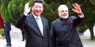 भारतीय पीएम और चीनी राष्ट्रपति
