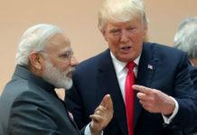 भारतीय पीएम नरेन्द्र मोदी और अमेरिकी राष्ट्रपति डोनाल्ड ट्रम्प
