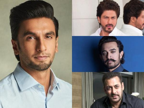 क्या तीनों खान की असफलता और रणवीर सिंह की दो ब्लॉकबस्टर फिल्में देने के बाद उनका टाइम आ गया है?