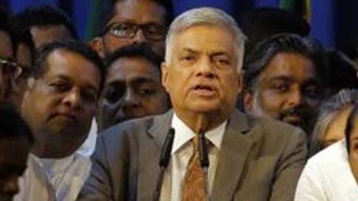 श्रीलंका के राष्ट्रपति रानिल विक्रमसिंघे