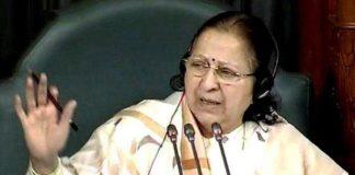 सुमित्रा महाजन: राहुल गाँधी अकेले राजनीती नहीं कर सकते इसलिए बहन की मदद ली