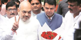 amit shah and devendr fadanvis