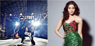 gully boy music launch, रणवीर सिंह, आलिया भट्ट