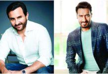 """""""तानाजी:द अनसंग वारियर"""": बड़े पर्दे पर दिखेगी अजय देवगन और सैफ अली खान की बॉडी"""