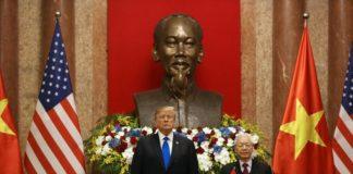 अमेरिका के राष्ट्रपति वियतनामी राष्ट्रपति
