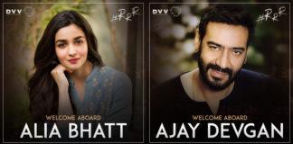 आलिया भट्ट , अजय देवगन इन एस एस राजामौली फिल्म