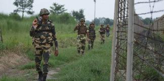 एलओसी के पास भारतीय सेना