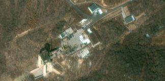 उत्तर कोरिया की मिसाइल साइट