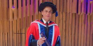 चौथी डॉक्टरेट उपाधि मिलने पर शाहरुख़ खान ने स्पीच के जरिये बताई स्वार्थी होने की अहमियत