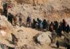 सीरिया में रखे गए आईएस के लड़ाके