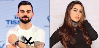 प्यूमा ब्रांड के लिए सारा अली खान की बनेगी विराट कोहली के साथ जोड़ी