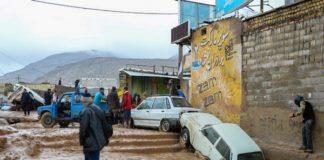 ईरान में भयावह बाढ़