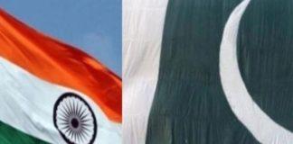 भारत और पाकिस्तान के ध्वज