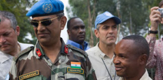 यूएन में तैनात भारतीय सैनिक