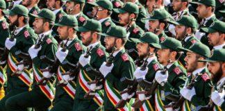 ईरानी सेना पर अमेरिकी प्रतिबन्ध