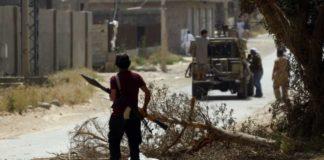 लीबिया में संघर्ष