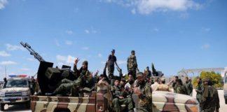लीबिया की नेशनल आर्मी