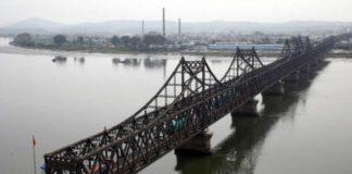 उत्तर कोरिया और चीन के बीच बॉर्डर क्रासिंग