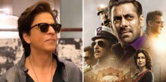 shahrukh khan reaction on bharat trailer