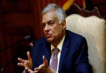 श्रीलंका के प्रधानमंत्री रानिल विक्रमसिंघे
