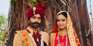 टीवी सीरियल 'विष या अमृत: सितारा' में हुई अदा खान और अरहान बहल की शादी, देखिये उनका शाही लुक