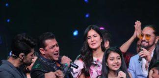 सारेगामापा लिटिल चैंप्स: सलमान खान और कैटरीना कैफ ने 'भारत' के प्रचार के दौरान की मस्ती