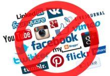 सोशल मीडिया पर प्रतिबन्ध