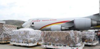 वेनेजुएला में चीनी विमान