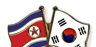 उत्तर कोरिया और दक्षिण कोरिया के ध्वज