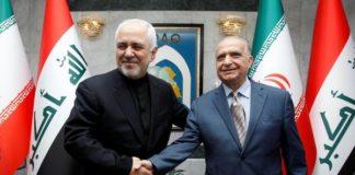 ईरानी और इराकी विदेश मंत्री