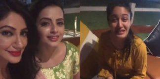 'इश्कबाज़' की अभिनेत्री श्रेनु पारिख, सुरभि चंदना और रेहना पंडित ने मिलकर की मस्ती, देखिये तसवीरें