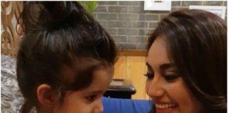 सुरभि ज्योति ने करणवीर बोहरा की बेटी बैला और विएना के साथ बिताया समय, देखे वीडियो