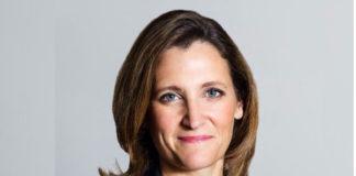 कनाडा की विदेश मंत्री