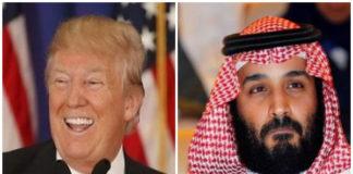 donald trump and crown prince mohammad bin salman