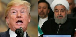 donald trump and hasan rouhani