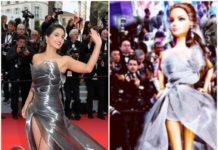 हिना खान के कांन्स लुक से प्रेरित होकर बनी एक गुड़िया, अभिनेत्री ने जताया आभार