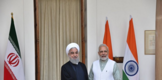 iranian prez and indian pm