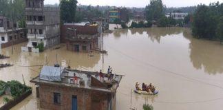 नेपाल मे बारिश