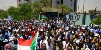 सूडान में प्रदर्शन