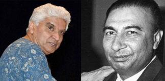 जावेद अख्तर: केवल मैं ही साहिर लुधियानवी के ऊपर फिल्म लिख सकता हूँ