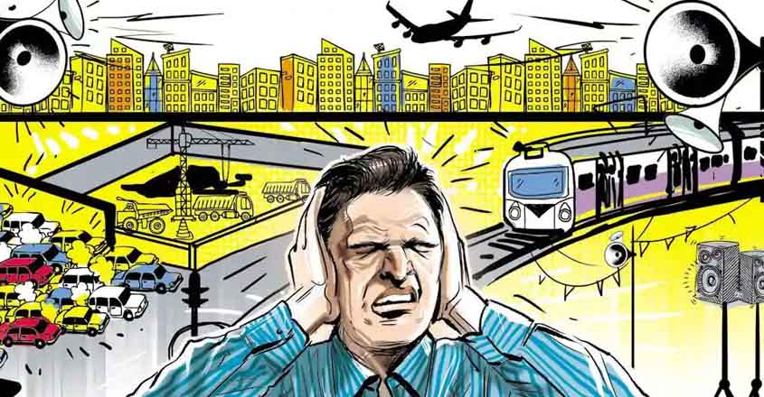 noise pollution essay in hindi