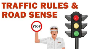 essay on traffic rules in hindi