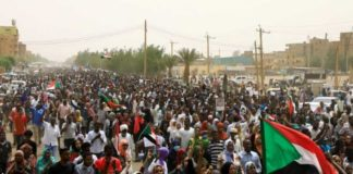 widespread protest in sudan