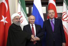 ईरान, तुर्की और रूस